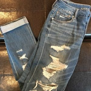 American Eagle Boyfriend Jeans, Size 10 regular